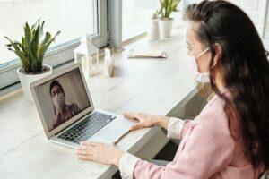 telemedicină, consultație video, medicină la distanță