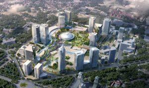 Foto: Proiectul imobiliar de la Romexpo / Sursa CCIR