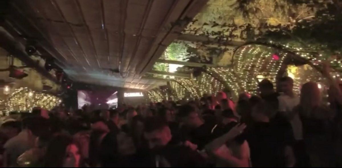 Foto: Petrecere club Nuba București / Sursa: captură video