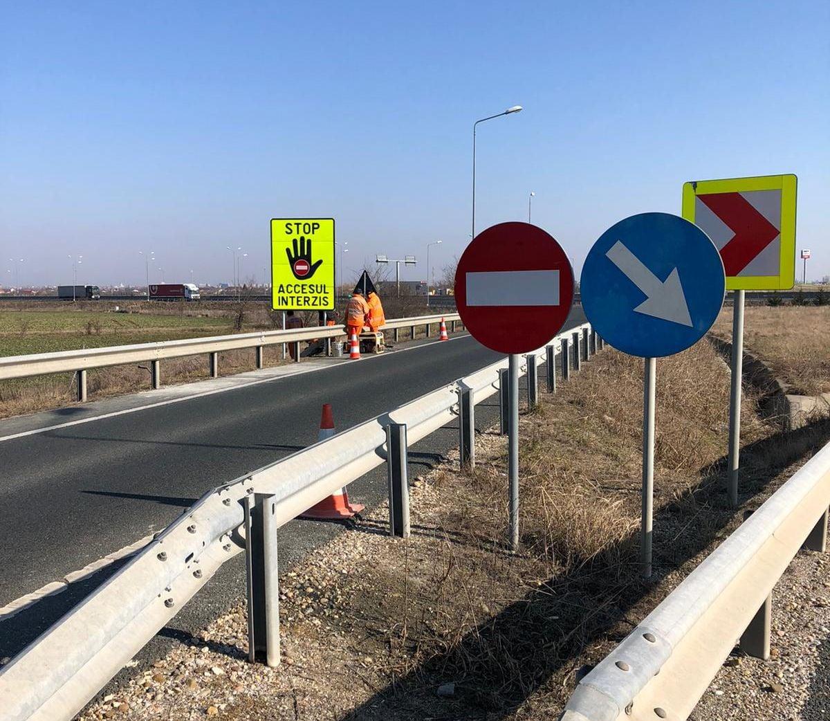 Acces Interzis pe Autostradă