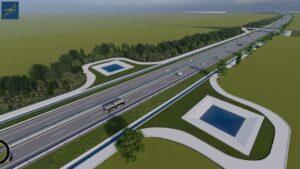 Autostrada A7 macheta