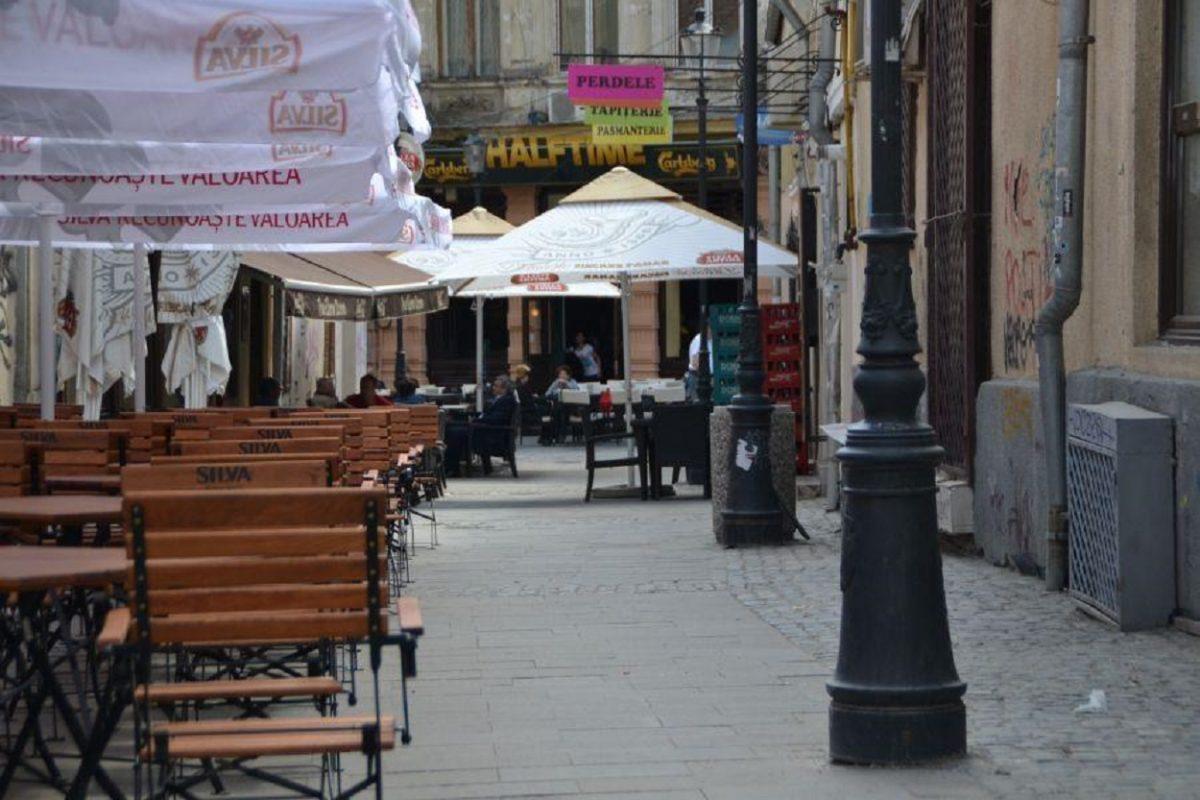 Centrul vechi, terasa, restaurant