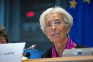 Christine Lagarde Banca Central Europeană