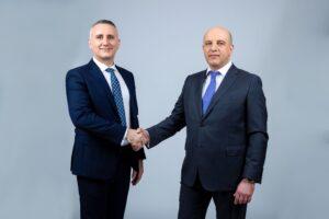 Claudiu Doroș CEO-Cătălin Iancu Deputy CEO Evergent Investments