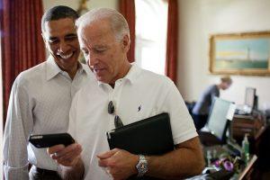 Joe Biden si Barack Obama