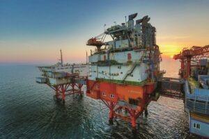 gaze, marea neagra, Platforma OMV Petrom