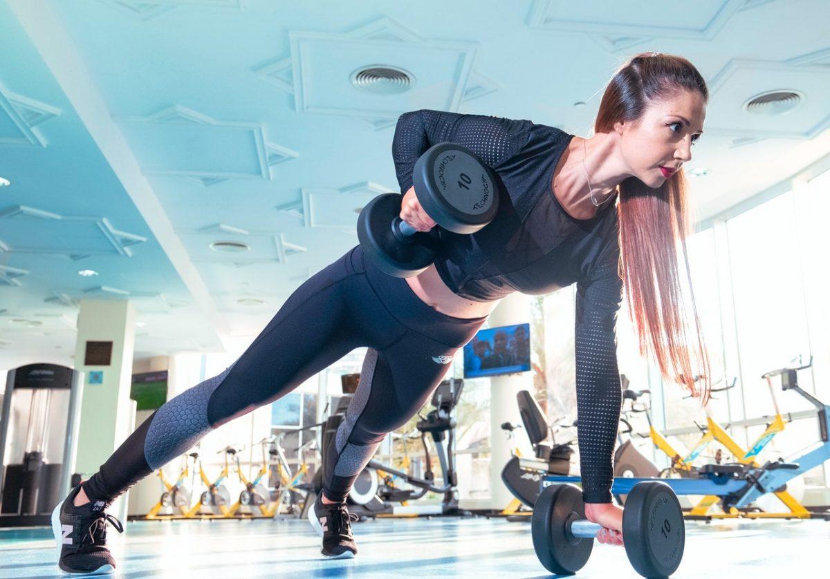 Sala de sport fitness Pexels