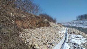 alunecare taluz, autostrada a3, autostrada transilvania