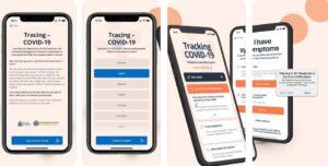 aplicatie tracking Covid - sursa Apple