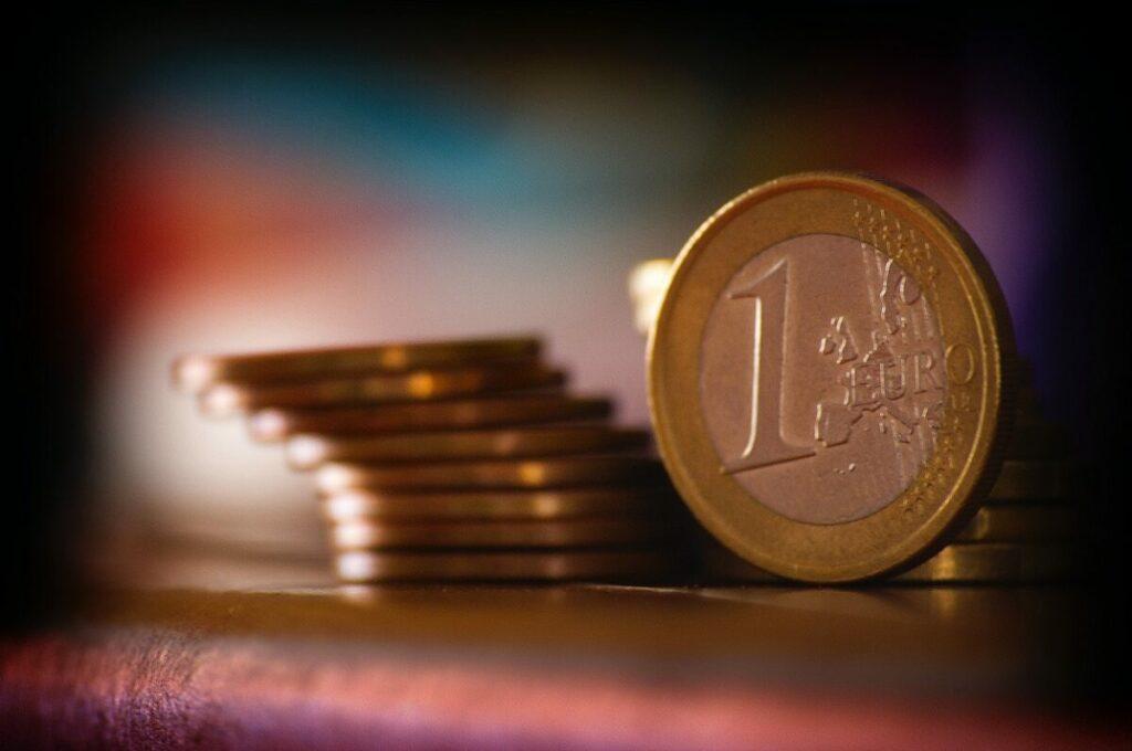 bani, euro, monede