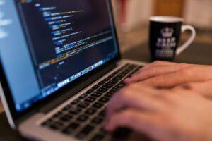 digitalizare, calculator, cod, programare