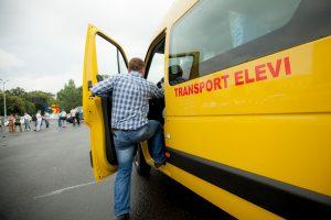microbuze scolare, transport elevi