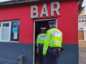 politie politist razie bar sursa IPJ Constanta