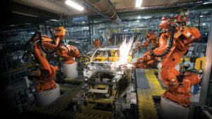 roboti, automatizare, masini, productie auto