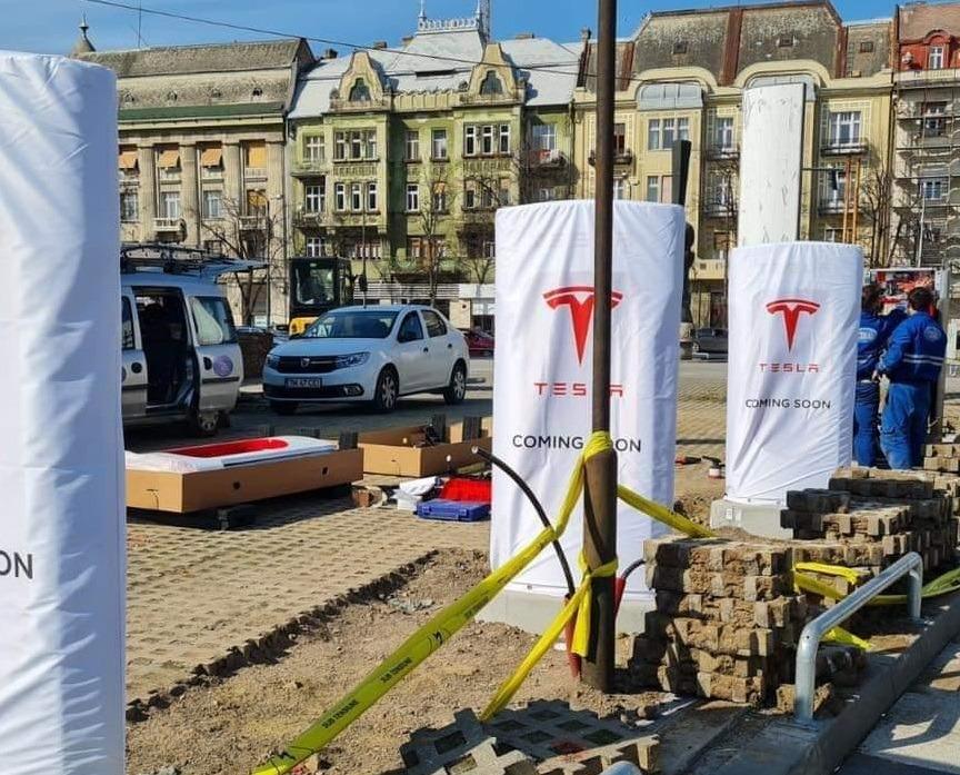 statie incarcare, Tesla, Timisoara