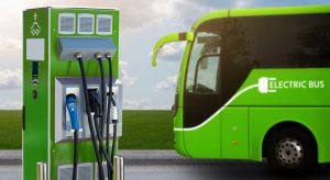 Autobuz Electric sursa Dreamstime