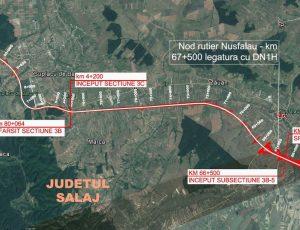 Autostrada Transilvania NUROL Nuşfalău Suplacu de Barcău