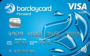 Card Barclays Visa