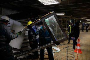 Demolarea chioșcurilor de la stația de metrou Ștefan cel Mare - InquamPhotos - George Călin