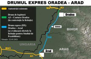 Drumul expres Oradea Arad