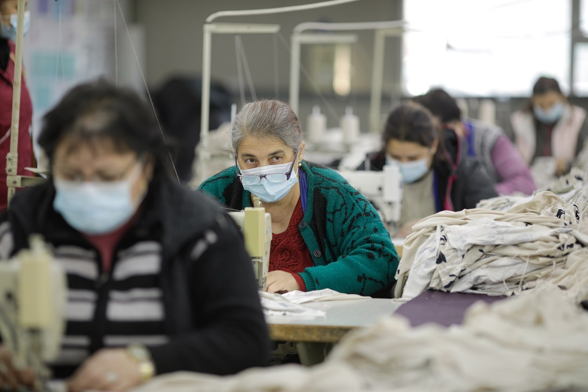 Fabrica textile, Ann Reeves Francesca
