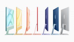 Noile computere iMac de la Apple - imagine oficială