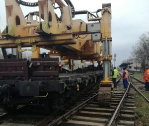 cale ferata, reparatii, tren, feroviar, CFR Infrastructura