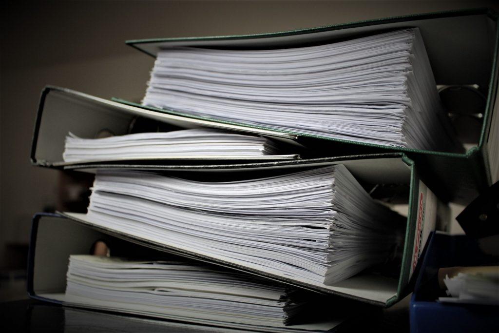 dosare, birocratie