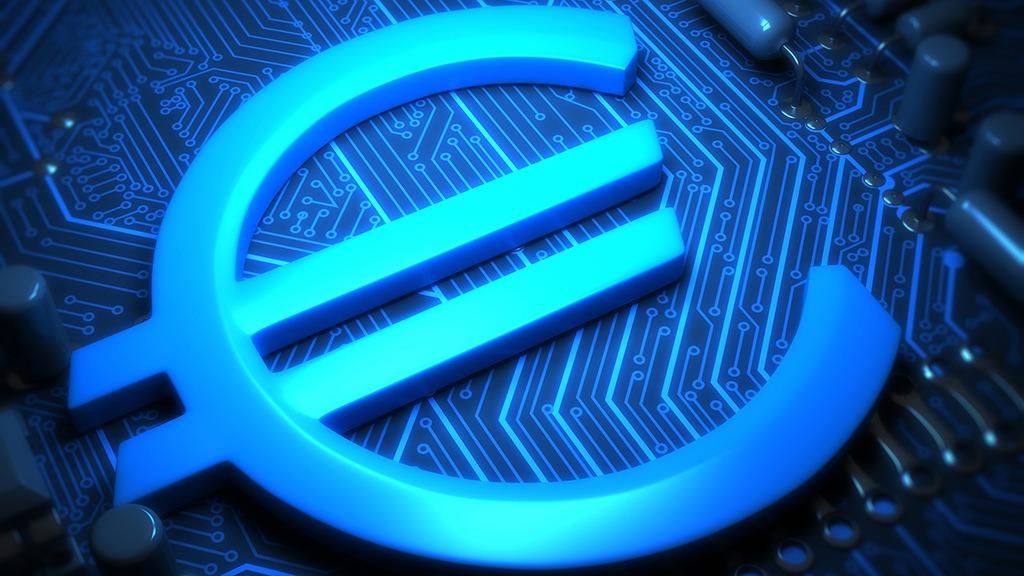 euro, digital, moneda, cripto