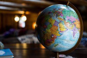 glob, harta lumii