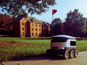 robot, livrare