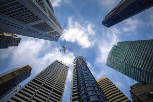 singapore, zgarie-nori, afaceri, cladiri de birouri