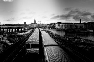 suedia, stockholm, trenuri, infrastructura