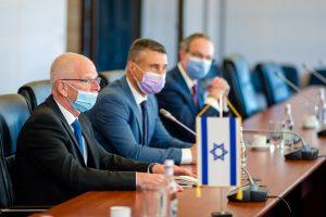 David Saranga, Ambasadorul Israelului și reprezentanții Israel Aerospace Industries