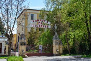 Foto: Fabrica de țigări Sfântu Gheorghe / Sursa Primărie