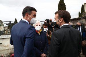 Pedro Sanchez si Emmanuel Macron