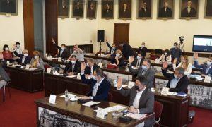 Ședința Consiliul Local Iași - captură video