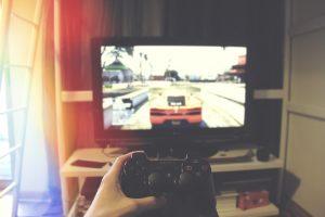 gamer, joc, playstation