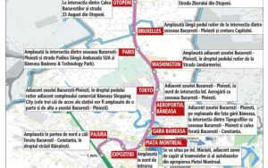 harta metrou Otopeni M6