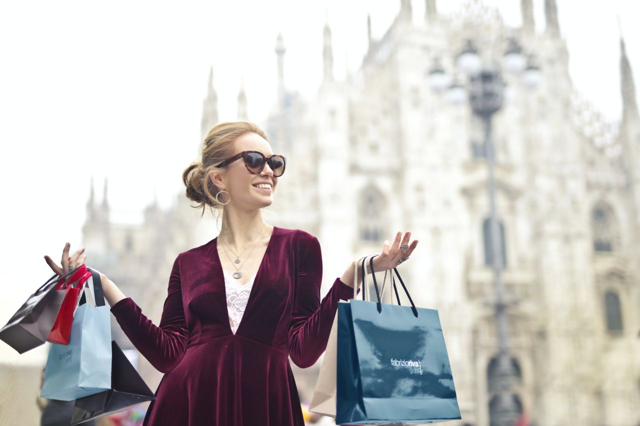 luxury shopping, cumparaturi