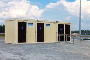 toalete modulare Sursa foto Dreamstime