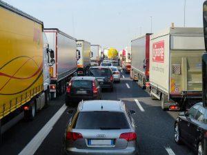 transportator, camion, sofer, trafic, masini