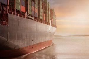 vapor, transport maritim, containere, comert