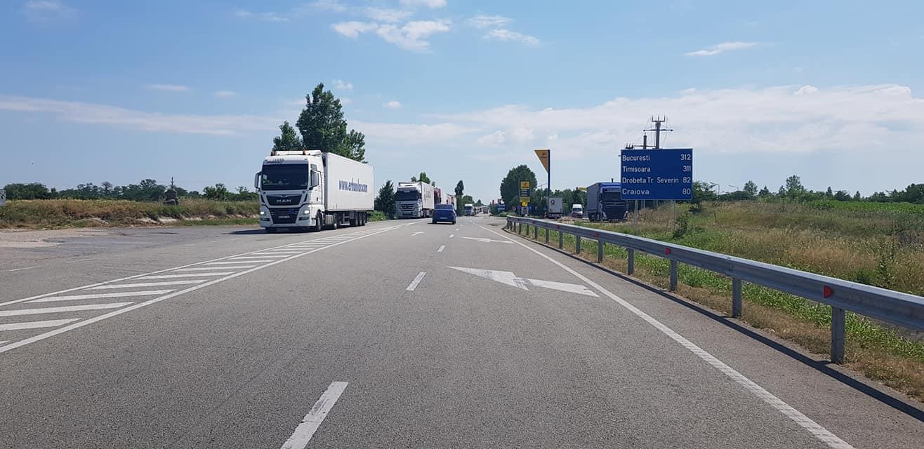 DN 56 Craiova Calafat Sursa Alin Goga, iunie 2021