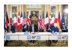 G7 Londra: sursa Facebook : Meherpur Times