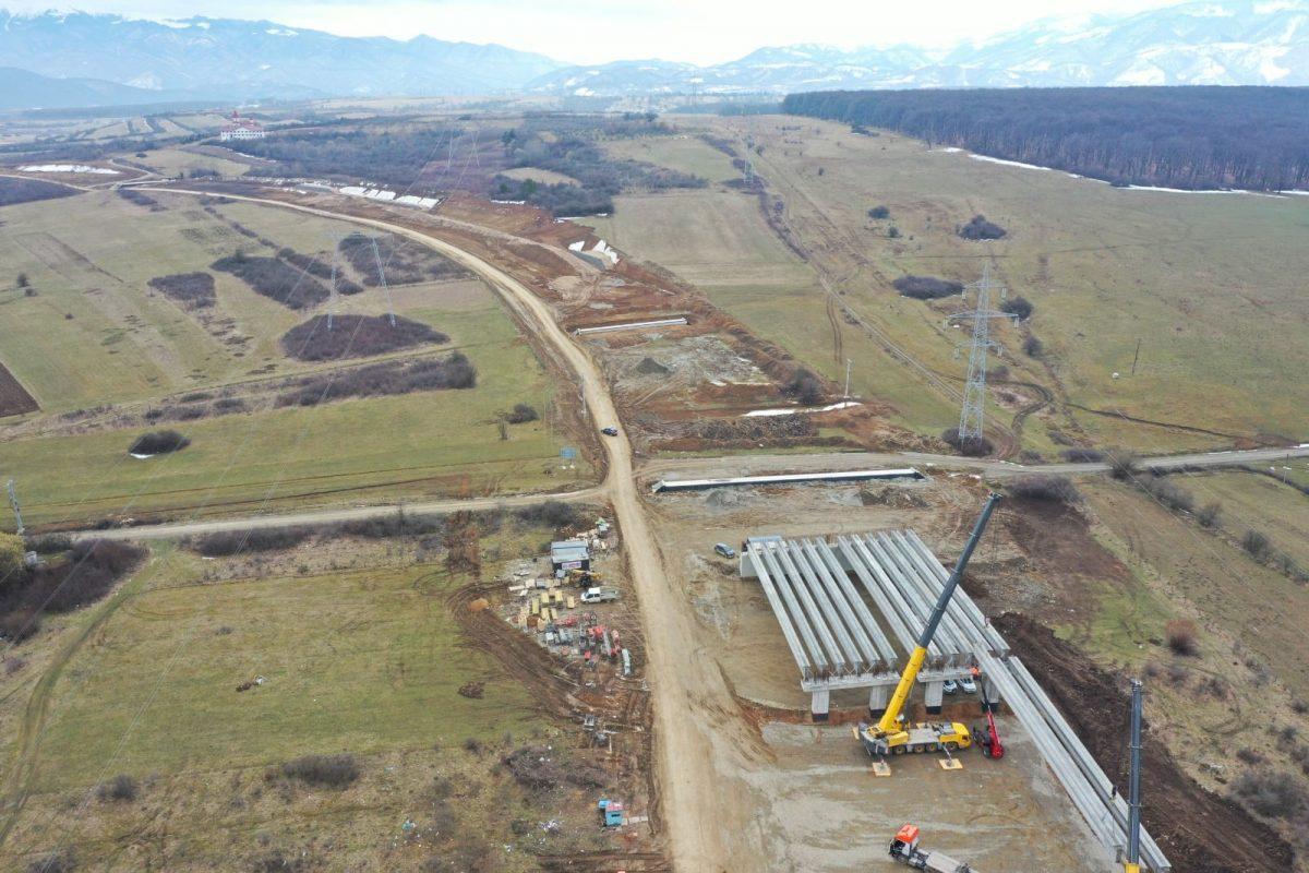 Infrastructură autostrada A1 Sibiu Pitești