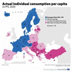 Putere de cumparare Eurostat
