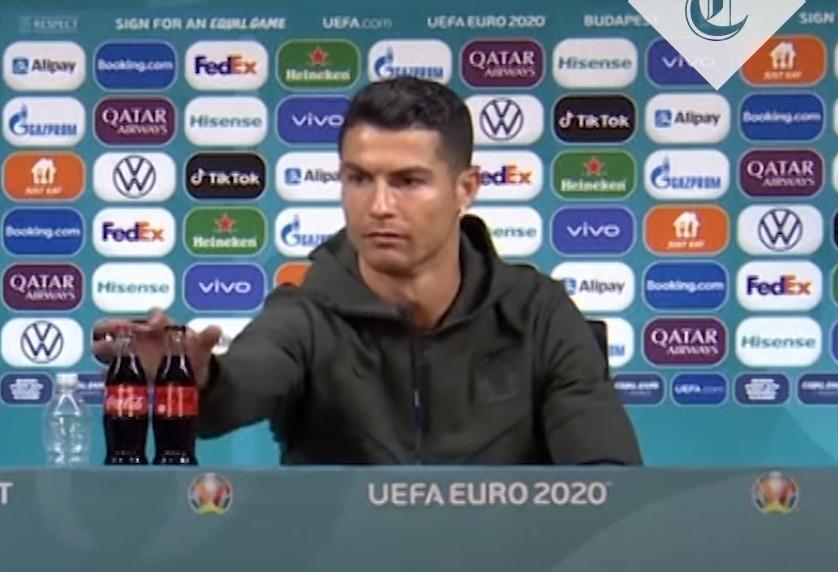 Ronaldo Coca Cola