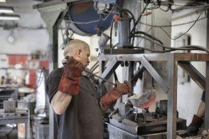 metalurgie, fabrica, muncitor, productie