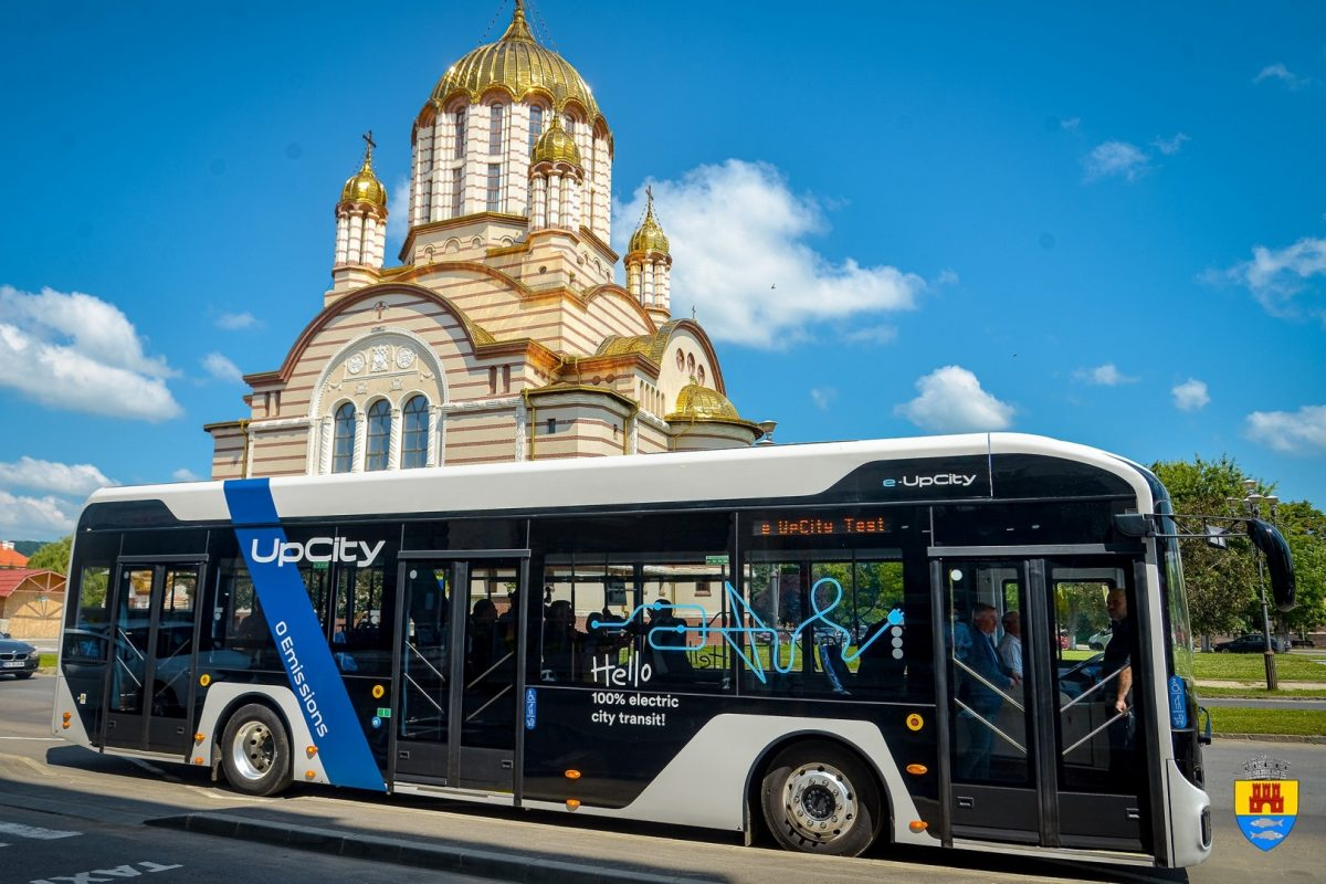 Autobuz electric ATP e-UpCity